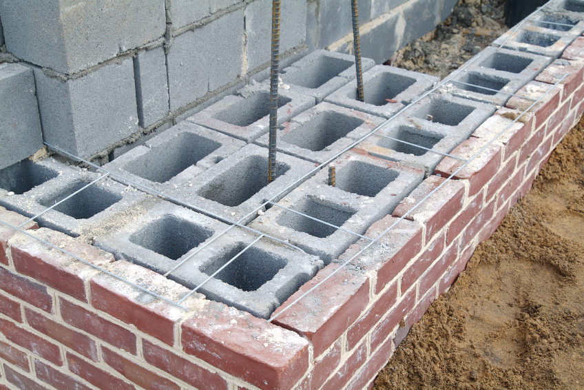 Cmu Wall Construction : Brick masonry fireplace tuck pointing chimney repair cost
