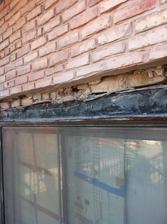 Water Damage Masonry Tuck Pointing Concrete Chicago Oak