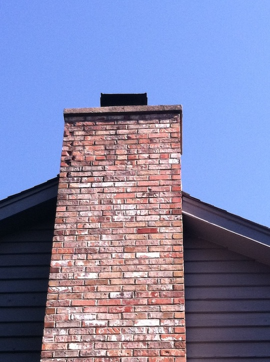 Naperville Illinois Completed Chimney Repair With Tuck